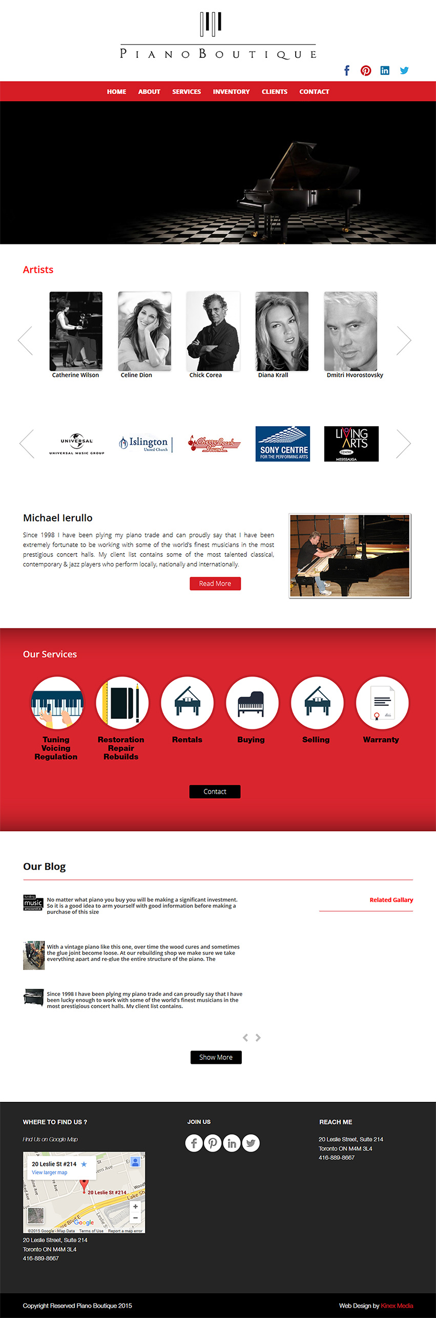 The Piano Boutique